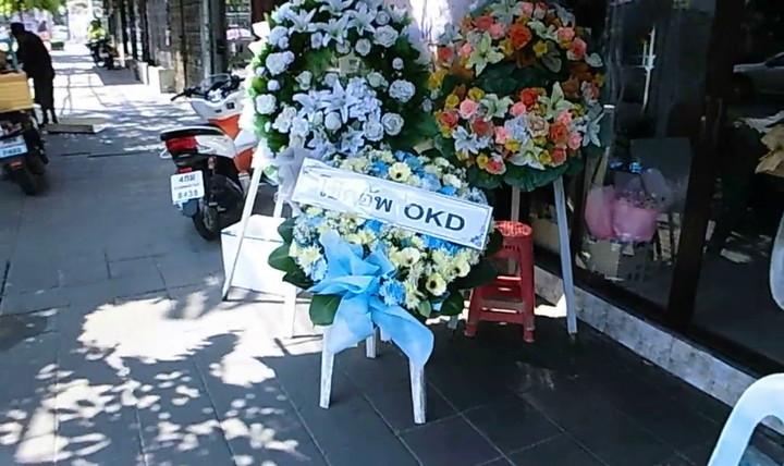 バンコクの花屋